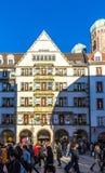 Zum Schoenen Turm in München Royalty-vrije Stock Foto's