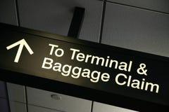 Zum Terminal Lizenzfreie Stockbilder