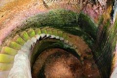 Zum Untergrund Stockbild