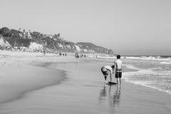 Zuma Beach California. This image was captured at Zuma Beach in Malibu, California in June 2015 Royalty Free Stock Image