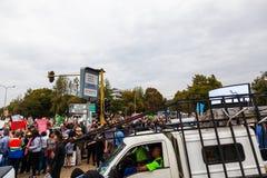 Zuma musi spadać marsz Zdjęcie Royalty Free