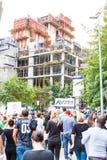 Zuma musi spadać marsz Zdjęcia Royalty Free