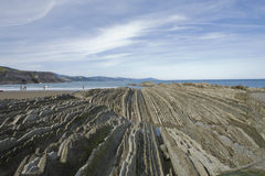 Zumaia Stock Photo