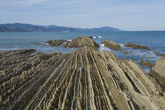 Zumaia Royalty Free Stock Photography