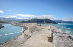 Zumaia, Spain Royalty Free Stock Image