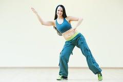 Zumba跳舞锻炼 图库摄影