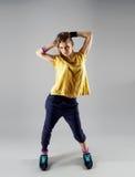Zumba di dancing della donna Fotografia Stock Libera da Diritti