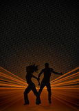 Zumba fitness dance background Royalty Free Stock Photo