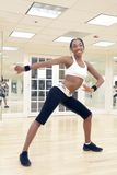 Zumba Fitness Instructor Stock Images
