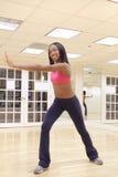 Zumba Fitness Instructor Royalty Free Stock Image