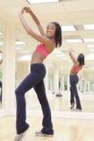 Zumba Fitness Instructor Royalty Free Stock Photos