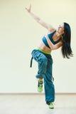 Zumba sprawności fizycznej dancingowi ćwiczenia Obraz Royalty Free