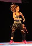 Zumba tancerz Zdjęcia Royalty Free