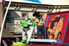 Zumbe el año ligero del desfile de Toy Story en Tokio Disneyland Imagen de archivo libre de regalías