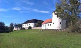 Zumberk-Festung Lizenzfreie Stockfotos