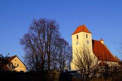 Zumberkvesting, Tsjechische Republiek, Zuid-Bohemen royalty-vrije stock foto