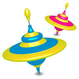 Zumbir-partes superiores coloridas Imagem de Stock Royalty Free