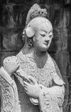 Zummi la statua della donna cinese immagine stock libera da diritti