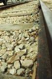 Zummi su una strada ferrata (ferrovia) Immagine Stock Libera da Diritti