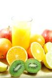 Zumo de fruta Fotos de archivo libres de regalías