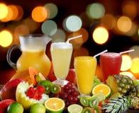 zumo de fruta Fotos de archivo