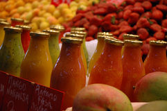 Zumo de fruta Fotografía de archivo libre de regalías