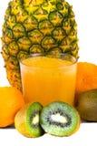 Zumo de fruta Imagenes de archivo