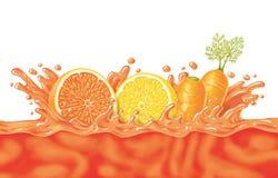 Zumo de fruta Imagen de archivo libre de regalías