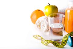 Zumo de fruta fresca Foto de archivo