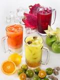 Zumo de frutas Imagen de archivo libre de regalías