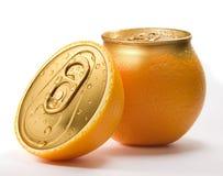 Zumo de naranja Foto de archivo