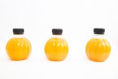 Zumo de naranja del aislante Fotografía de archivo