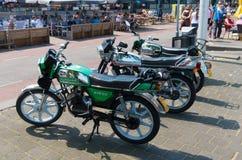 Zundapp mopeds Royalty Free Stock Photo