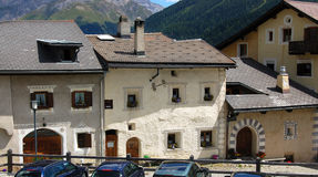 Free Zuoz Village - Engadine Switzerland Royalty Free Stock Photos - 80819028