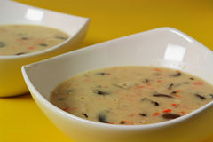 zupa pieczarkowa obrazy stock