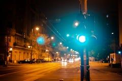 Zupełnie latarnia uliczna obrazy stock