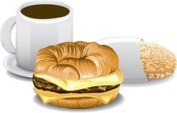 Zupełny śniadanie royalty ilustracja