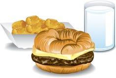 Zupełny śniadanie ilustracja wektor