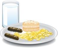 Zupełny śniadanie Zdjęcie Stock