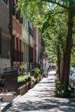 Zupełnie NY ulica Zdjęcie Stock