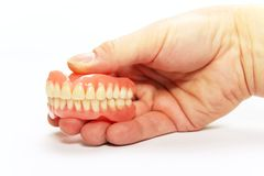 zupełny denture Zdjęcia Stock