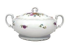 zupny porcelany tureen Obrazy Stock