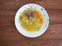 Zuppa-Betrüger Carne di Manzo lizenzfreie stockbilder