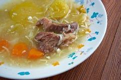 Zuppa con carne di manzo Royalty Free Stock Photo