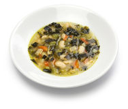 Zuppa di cavolo nero, black kale soup Royalty Free Stock Image