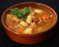 Zuppa di fagioli Fotografie Stock