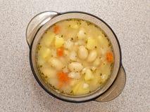 Zuppa di fagioli Immagini Stock