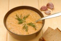 Zuppa di fagioli Immagine Stock