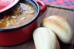 Zuppa di fagioli Immagini Stock Libere da Diritti