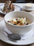 Zuppa di fagioli bianchi Immagini Stock Libere da Diritti